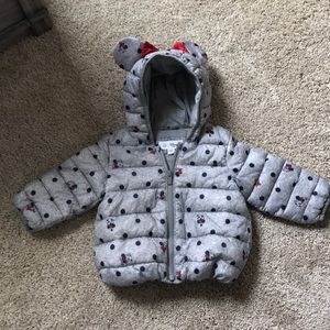 Minnie Mouse Puffer Jacket